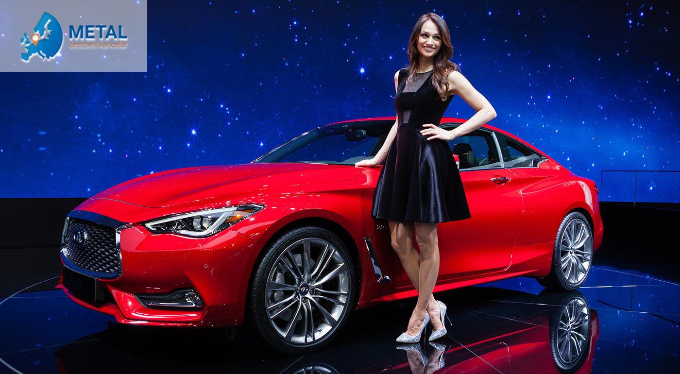 Spoznajte tie najčerstvejšie novinky automobiliek z celého sveta na prestížnom autosalóne v Ženeve. Ocitnite sa vo svete luxusných áut, šarmantných dám a vychutnajte si zážitok na celý život.