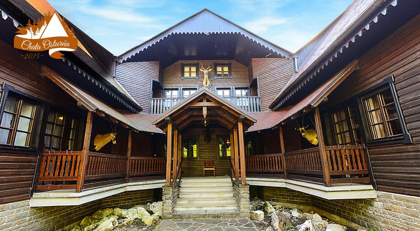 Pieniny: Chata Osturňa v pokojnej prírode s pobytom na 3 dni až pre 18 ľudí