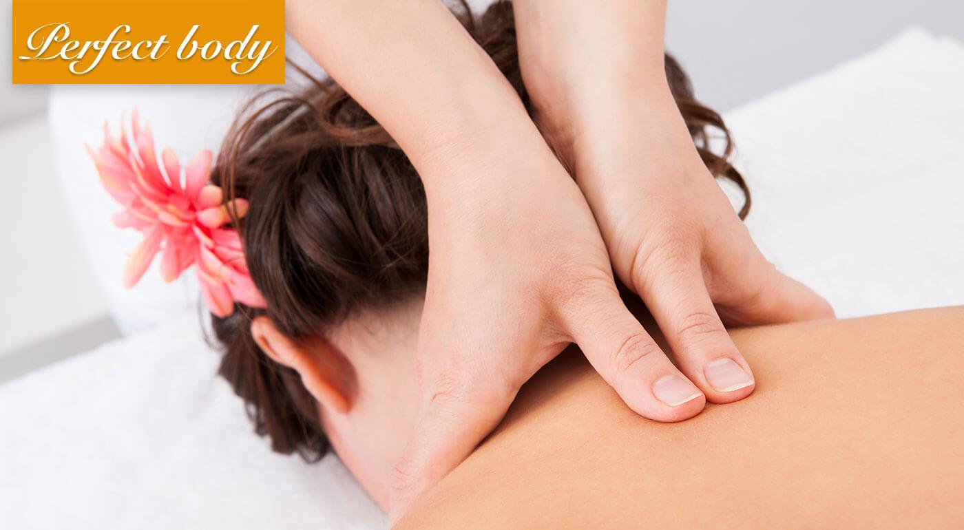 Liečebná reflexno-akupresúrna masáž krížov a kĺbov v bratislavskom salóne Perfect Body