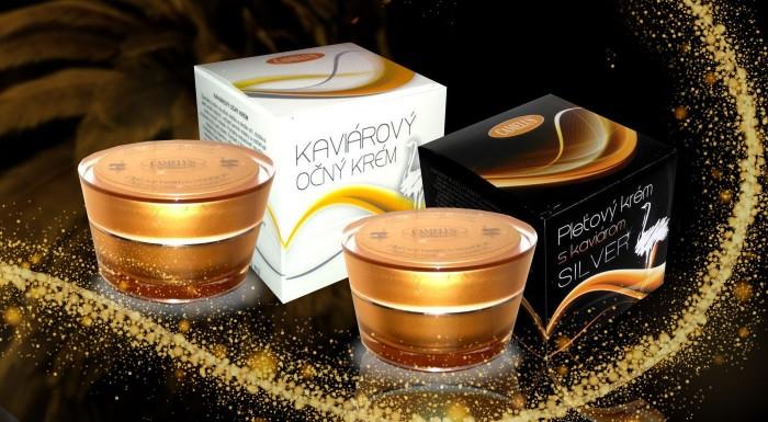 Fotka zľavy: Doprajte svojej pleti luxusnú kozmetiku slovenskej značky Camelus s kaviárom a pštrosím olejom. Očný alebo pleťový krém s vylepšenou receptúrou za fantastickú cenu!