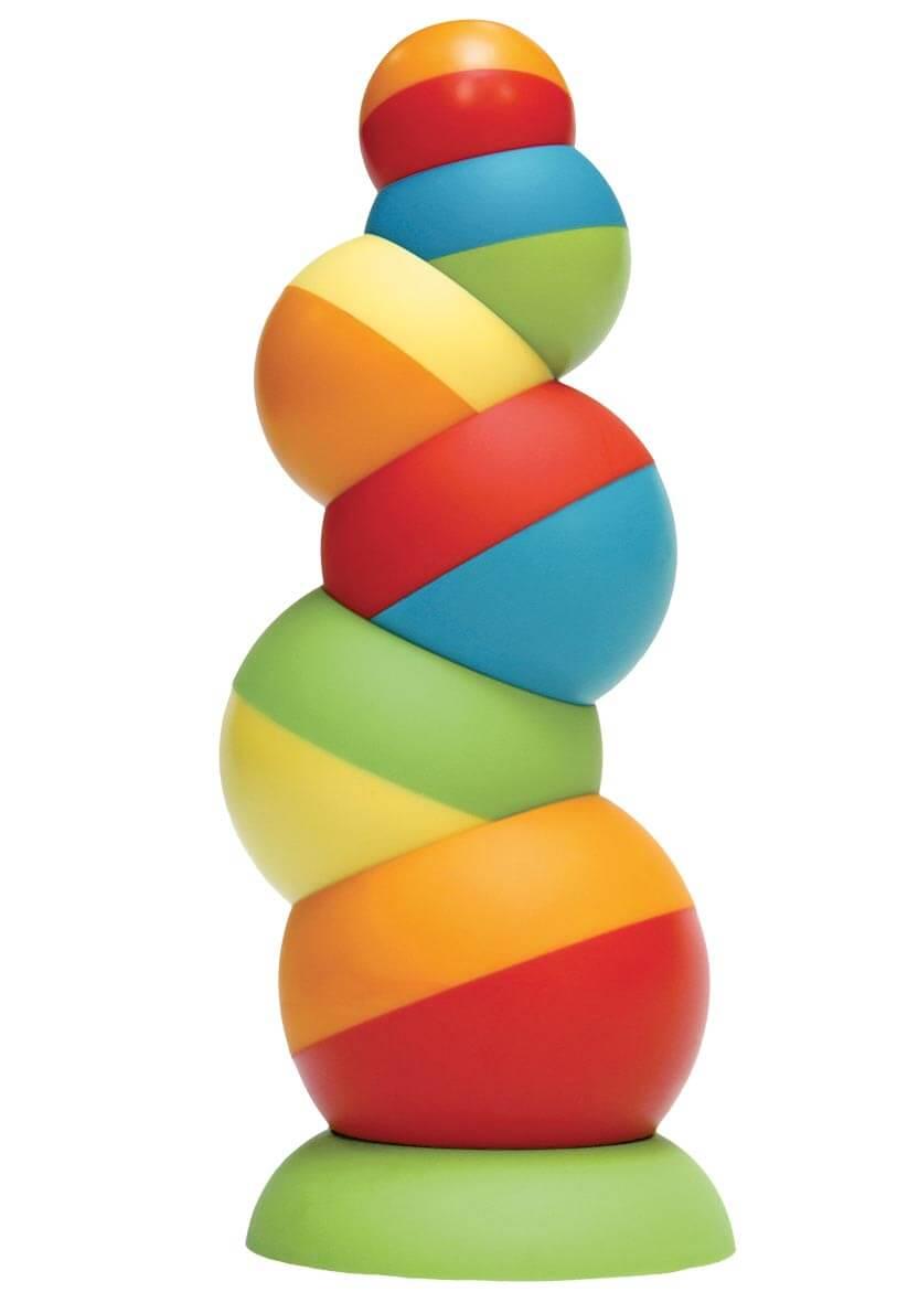 Fat Brain Toys Tobbles - balančná veža od 24 mesiacov
