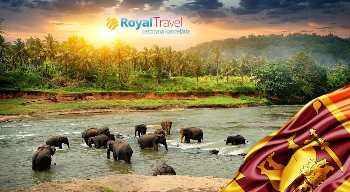 Zľava 36%: Spoznajte perlu Indického oceánu počas 11 dní! Exotická Srí Lanka s CK Royal Travel! Odlet z Bratislavy, ubytovanie pri pláži, polpenzia a ďalšie skvelé zážitky!