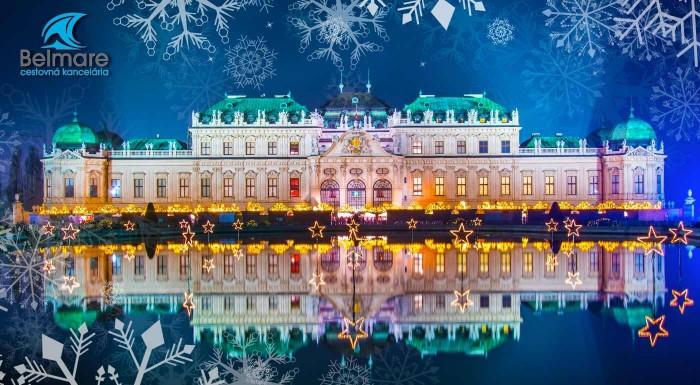 Zľava 19%: Navštívte s CK Belmare najznámejšie vianočné trhy vo Viedni. Okrem toho pre vás naplánovala aj návštevu zámku Schönbrunn a Múzea cisárovnej Sisi. Pre hladošov sú v autobuse pripravené aj raňajky.