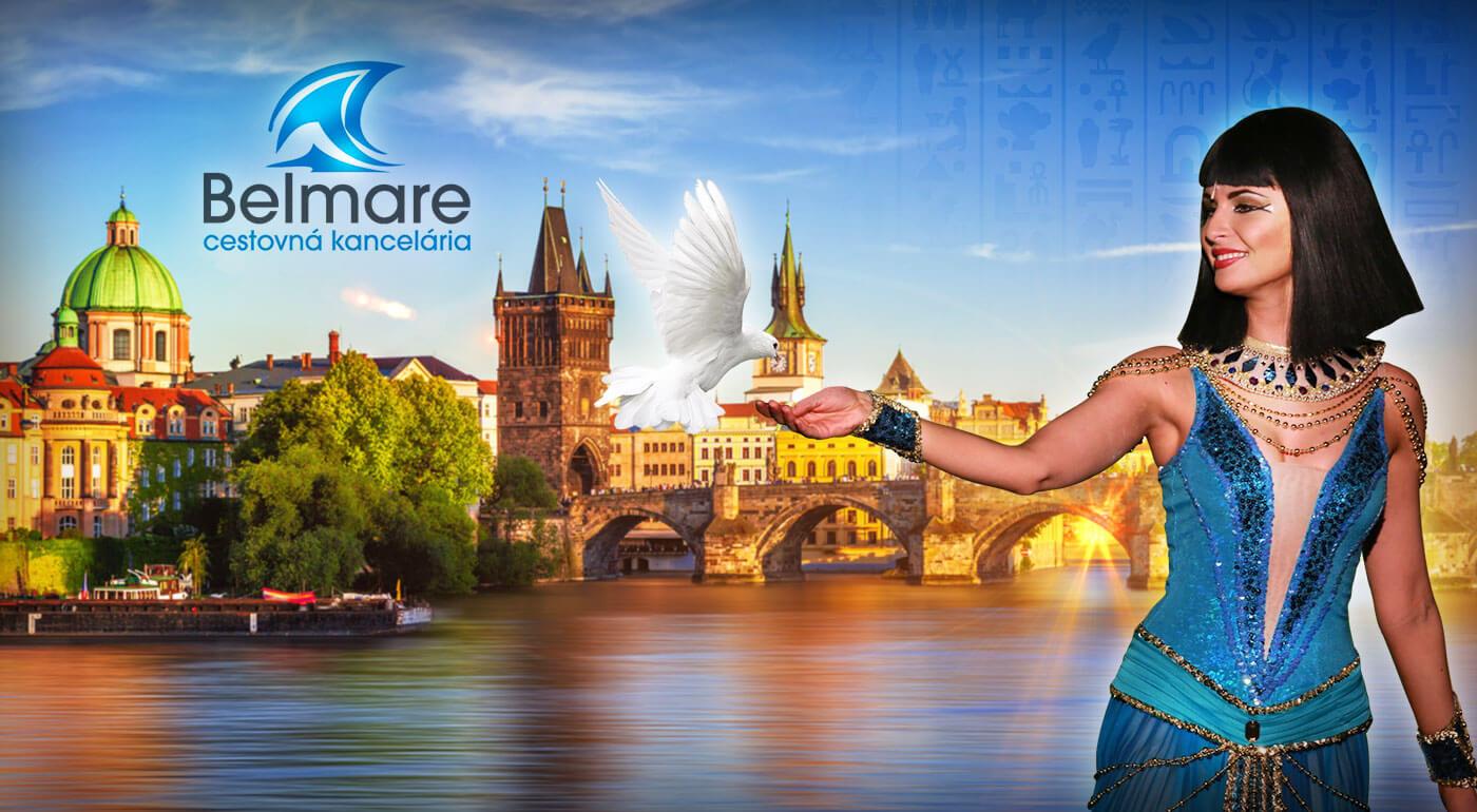 Muzikálová Praha a pražské Benátky: 2-dňový zájazd do najväčšej českej metropoly aj so vstupenkou na muzikál Kleopatra