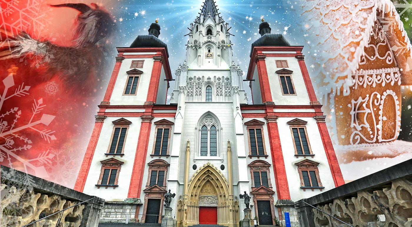 Adventný Mariazell: 1-dňový zájazd do Rakúska s návštevou vianočných trhov a tradičným sprievodom čertov