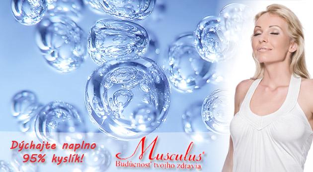Terapia kyslíkom + vitamínový nápoj. Darujte svojim bunkám sviežosť. Bonus navyše - premeranie okysličenia krvi a pulzovej frekvencie