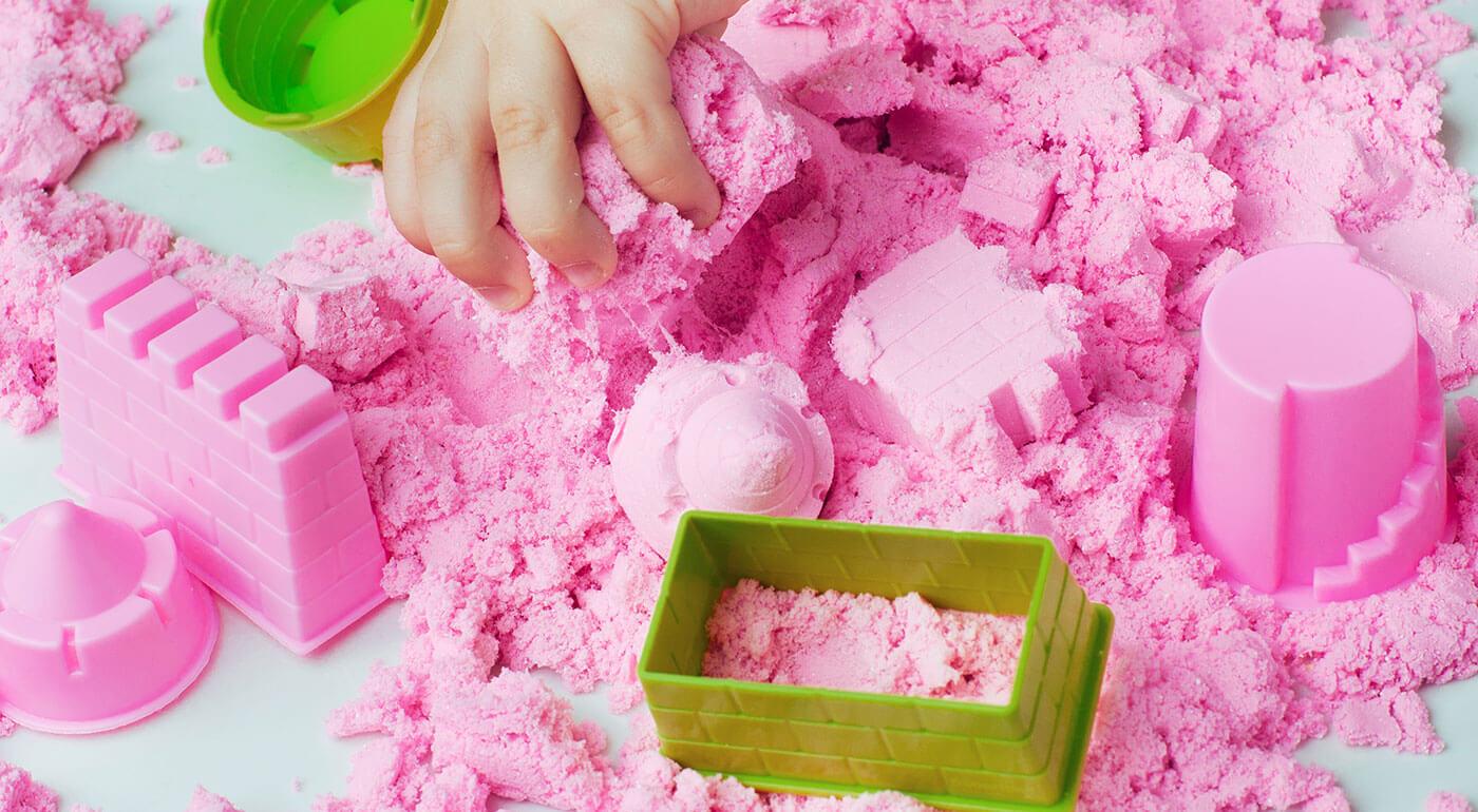 Kinetický piesok pre deti v 1kg alebo 2kg balení - na výber aj varianty s formičkami!