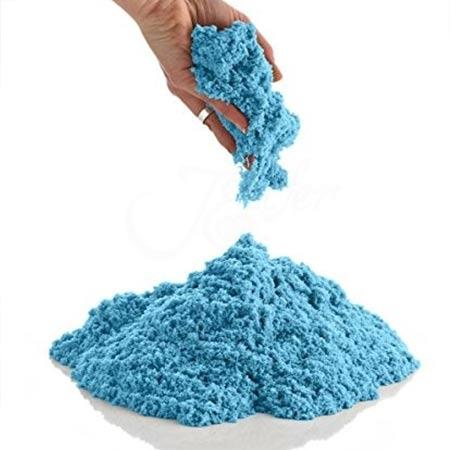 Play Sand kinetický piesok pre deti 1kg balenie - modrý