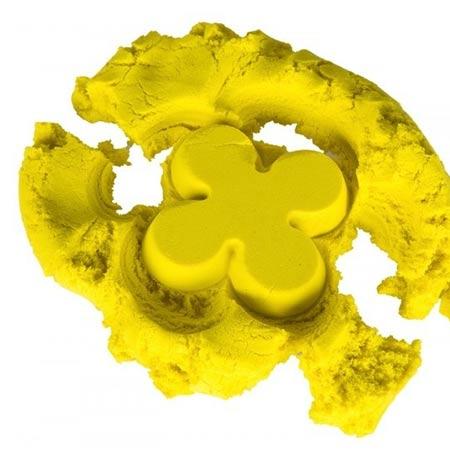 Play Sand kinetický piesok pre deti 1kg balenie - žltý