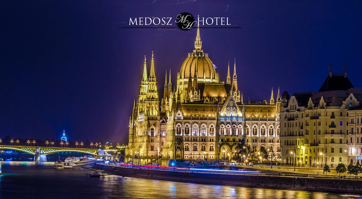Budapešť: Hotel Medosz*** v srdci maďarskej metropoly pre 2 osoby s raňajkami a plavbou po Dunaji