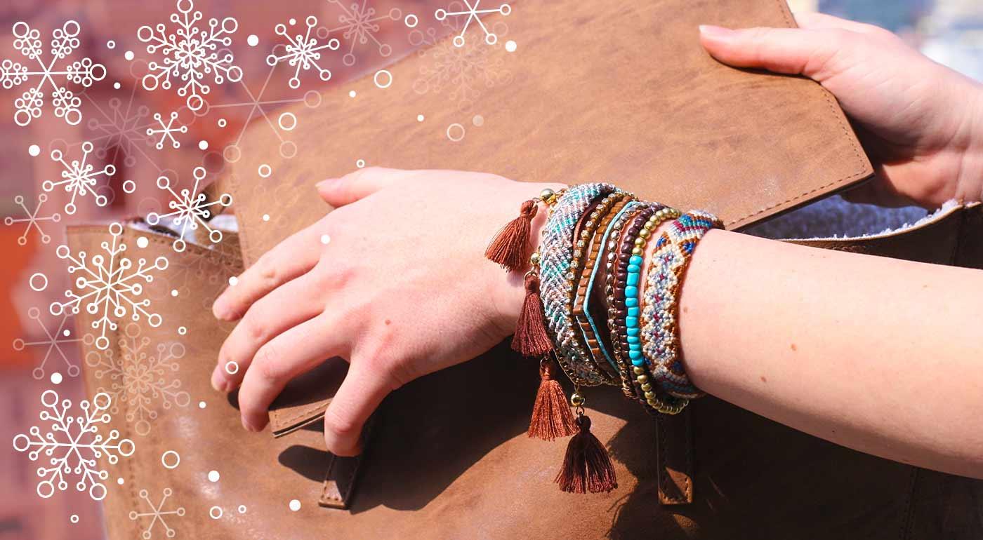 Ručne vyrobené indiánske náramky