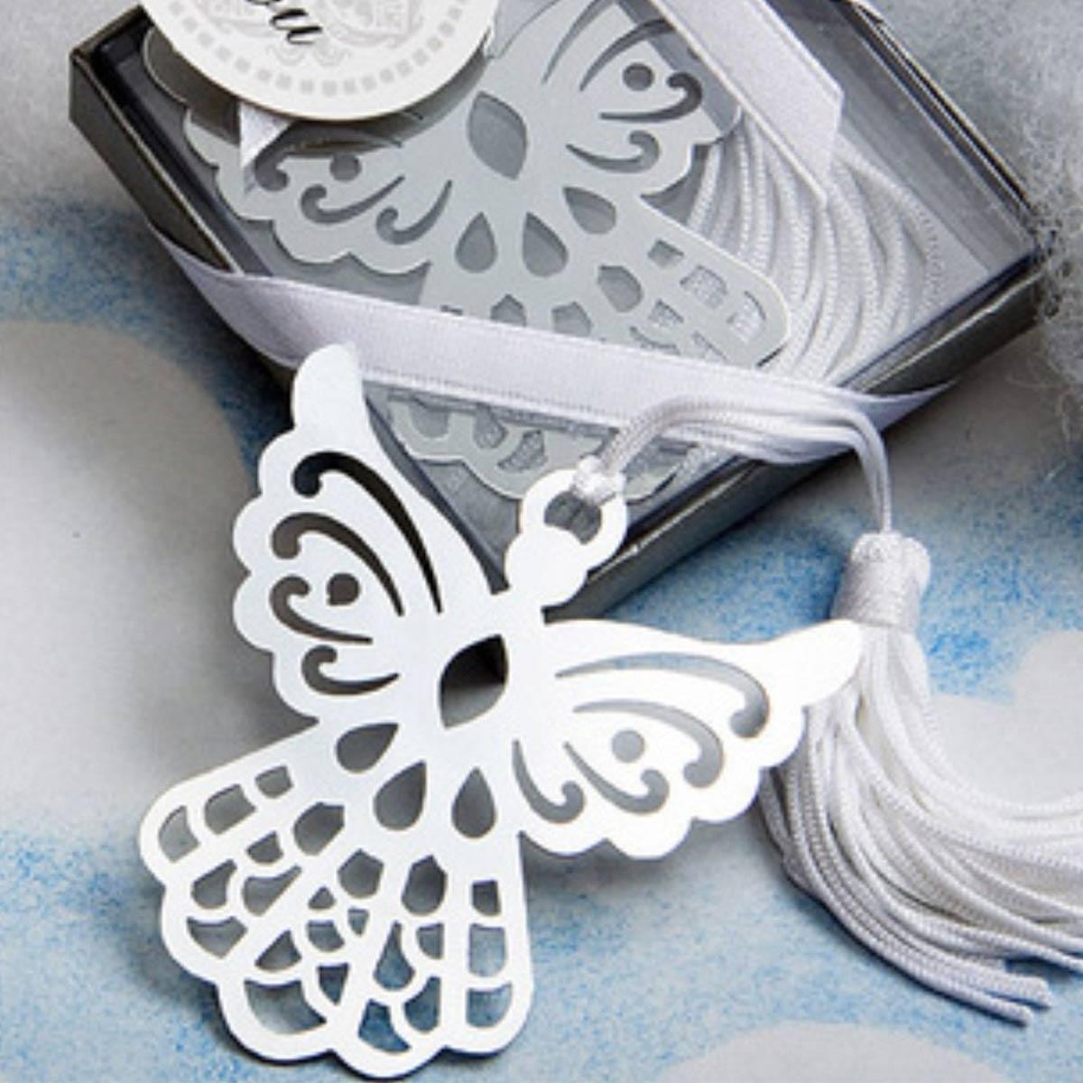 Kovová záložka do knihy - anjel