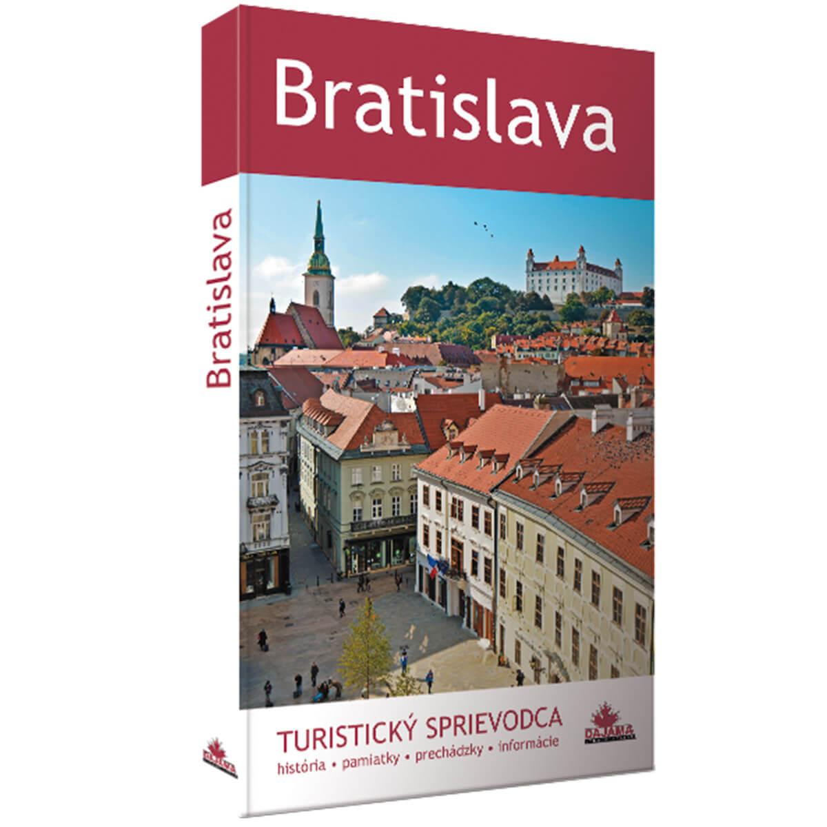 Kniha Bratislava - turistický sprievodca z vydavateľstva Dajama