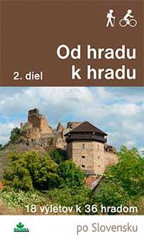 Kniha Od hradu k hradu 2. diel - 18 výletov k 36 hradom po Slovensku z vydavateľstva Dajama