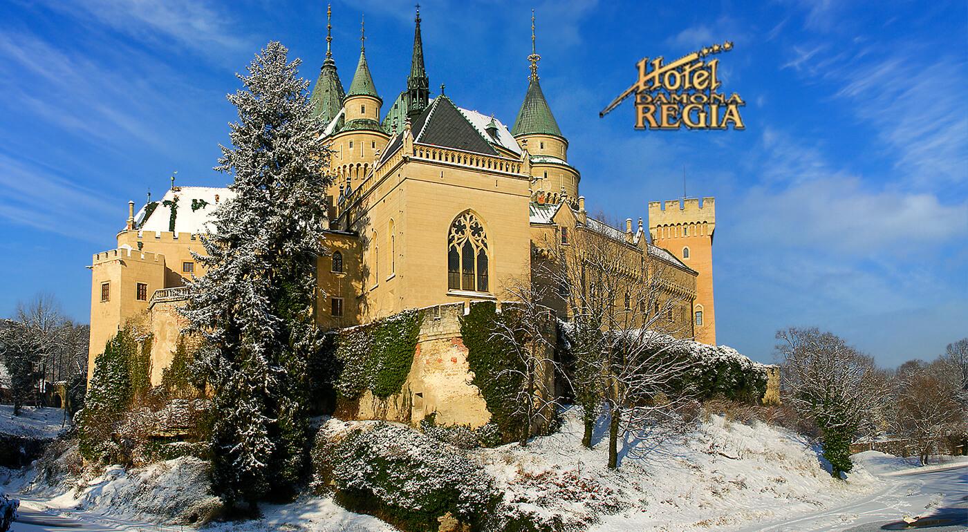 Hotel Regia*** v Bojniciach - relax pre 2 osoby na 3 dni. ZOO, zámok či kúpele doslova na dotyk a k tomu polpenzia, wellness, fitness i zľava na masáže!