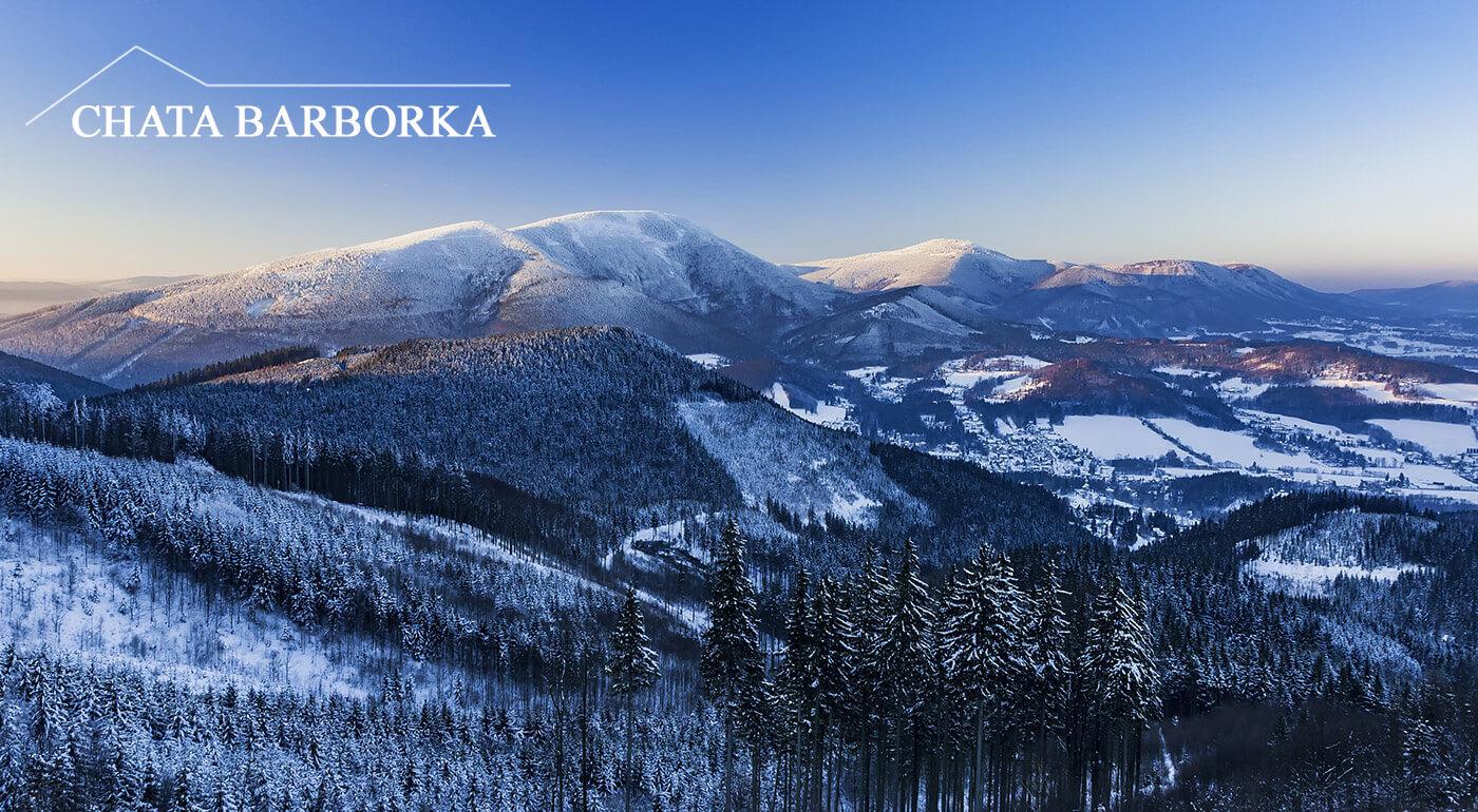 Relax uprostred krásnej prírody moravsko-sliezskych Beskýd v Chate Barborka blízko slovenských hraníc