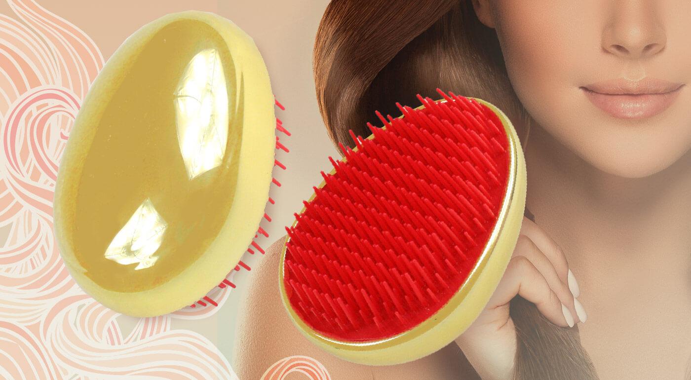 Tangle Brush - kefa na vlasy, s ktorou bude česanie a rozčesávanie hračka