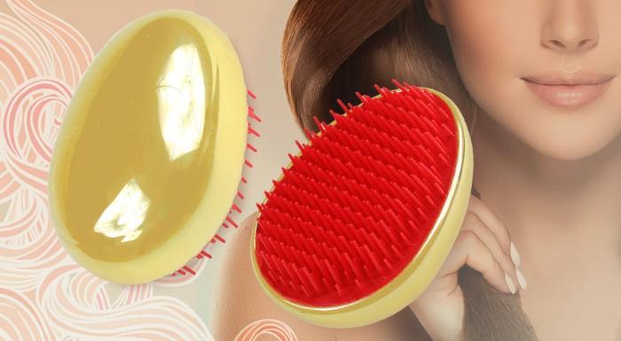 Rozčesávajte sa bez toho, aby ste si poškodili vlasy. Vyskúšajte špeciálnu kefu Tangle Brush, ktorá zabraňuje lámaniu, ťahaniu či vypadávaniu vlasov spojeného s česaním.
