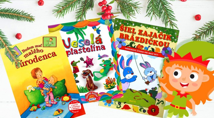 Fotka zľavy: Knihy pre najmenších - skvelý darček na Vianoc