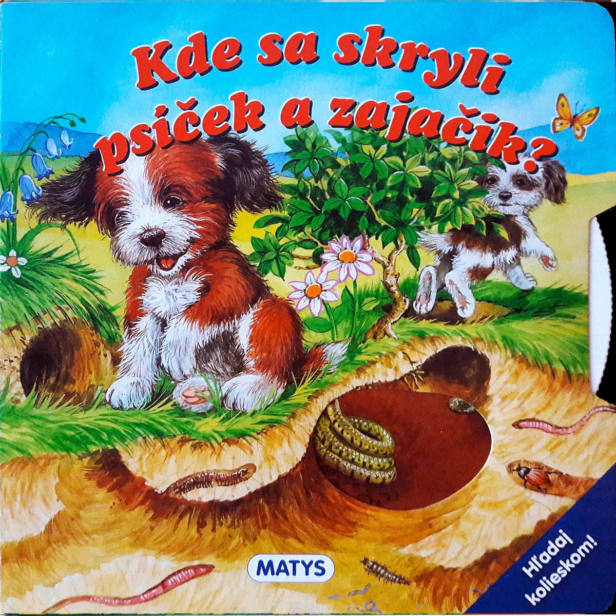 Kde sa skryli psíček a zajačik