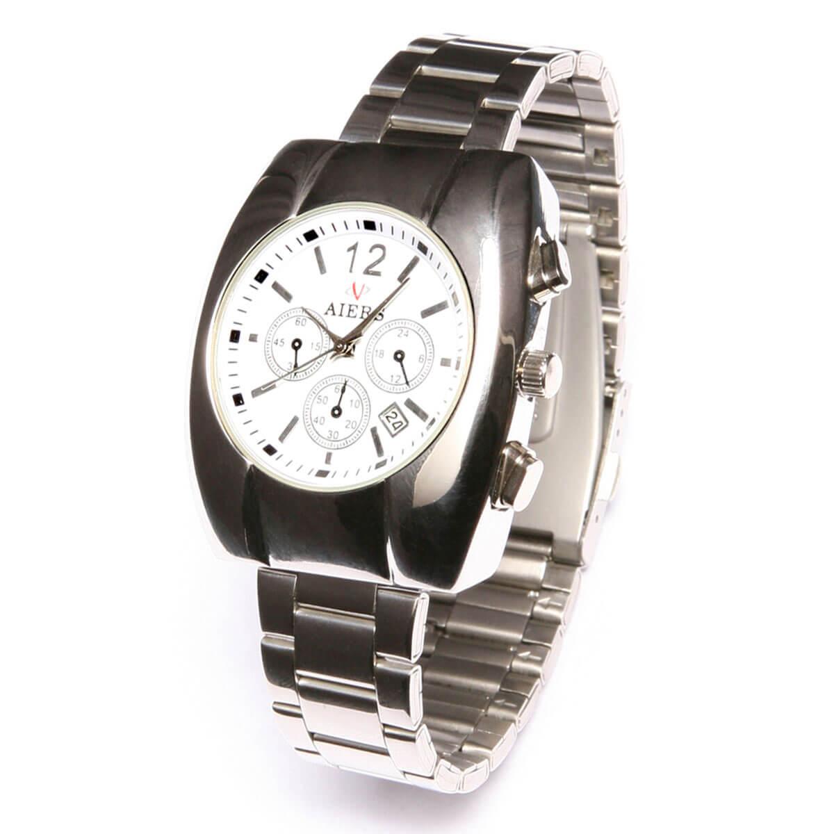 Strieborné dámske hodinky AIERS ARS 818