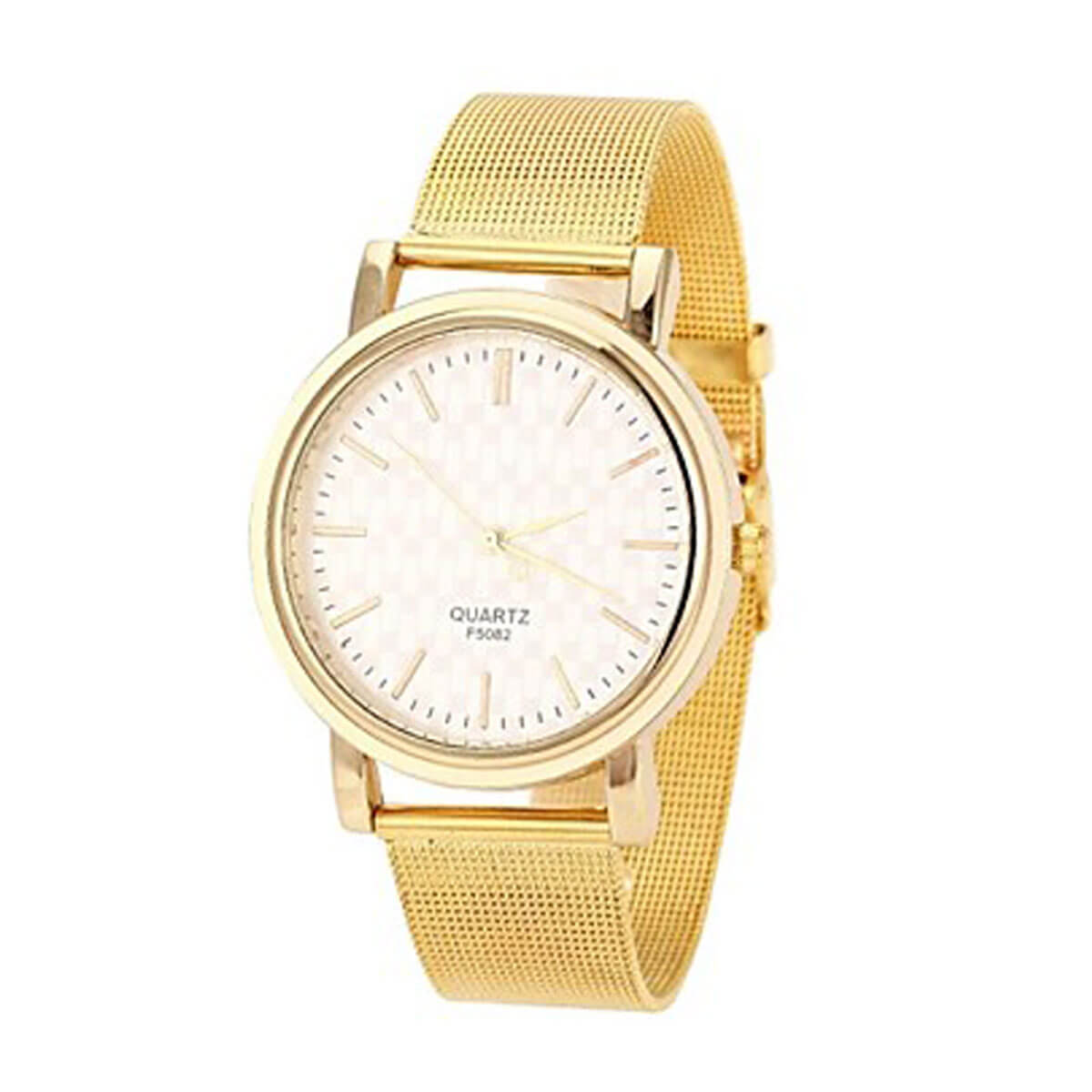 Zlaté dámske hodinky Quartz F 5082