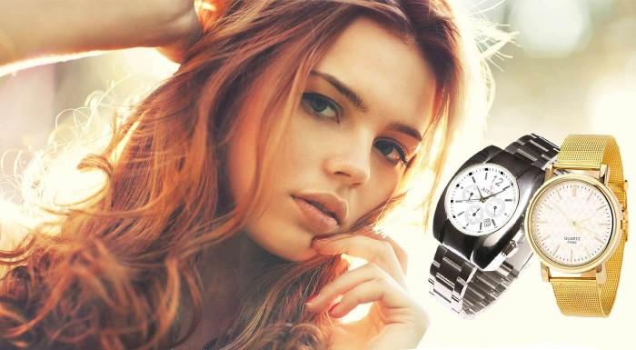 Dámske hodinky Quartz a Aiers v 2 farbách