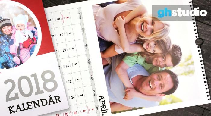 Fotka zľavy: Rok 2018 bude pekný ako obrázok. Aj vďaka kalendárom na stôl alebo na stenu s vašimi vlastnými fotografiami. Na výber máte hneď niekoľko formátov. Darujte niečo, čo sa nedá nájsť v obchodoch!