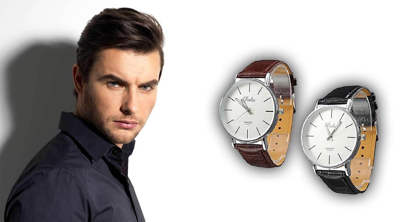 Športové alebo elegantné hodinky pre pánov - kvalitné značky Quartz a Dual Time