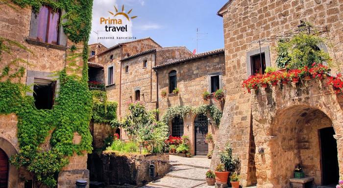 Zľava 32%: Romantické Toskánsko na dosah ruky. Spoznajte jednu z najkrajších častí Talianska na 5-dňovom zájazde s CK Prima Travel. Čaká na vás krásna architektúra a jedinečná historická atmosféra!