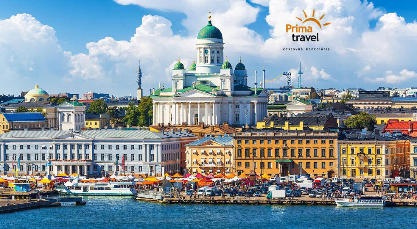 Fínsko, Litva, Lotyšsko a Estónsko - spoznajte pobaltské krajiny a Helsinki na 6-dňovom zájazde