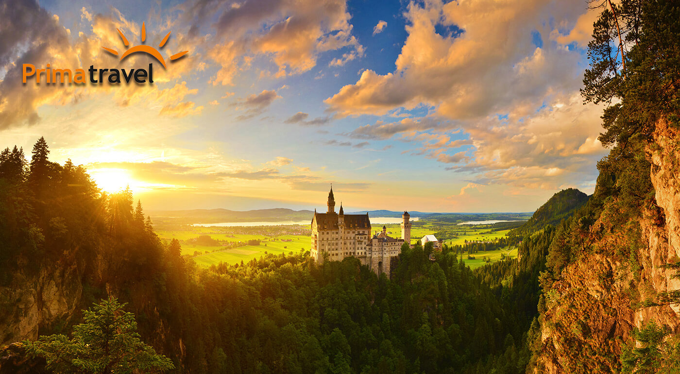 Fotka zľavy: Na zájazde do Nemecka spoznáte všetky najkrajšie bavorské zámky. Počas 2 dní si s CK Prima Travel pozriete okrem iného aj Neuschwanstein a dozviete sa aj pikošky o výstrednom vládcovi Ludwigovi II.
