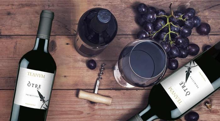Víno Primitivo Òtre ocenené medailou AWC Vienna