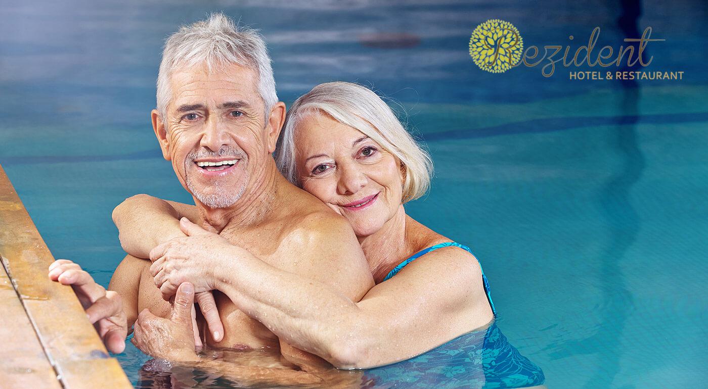 Turčianske Teplice: Oddychový senior pobyt v Hoteli Rezident*** s wellness procedúrami, vstupom do aquaparku a plnou penziou