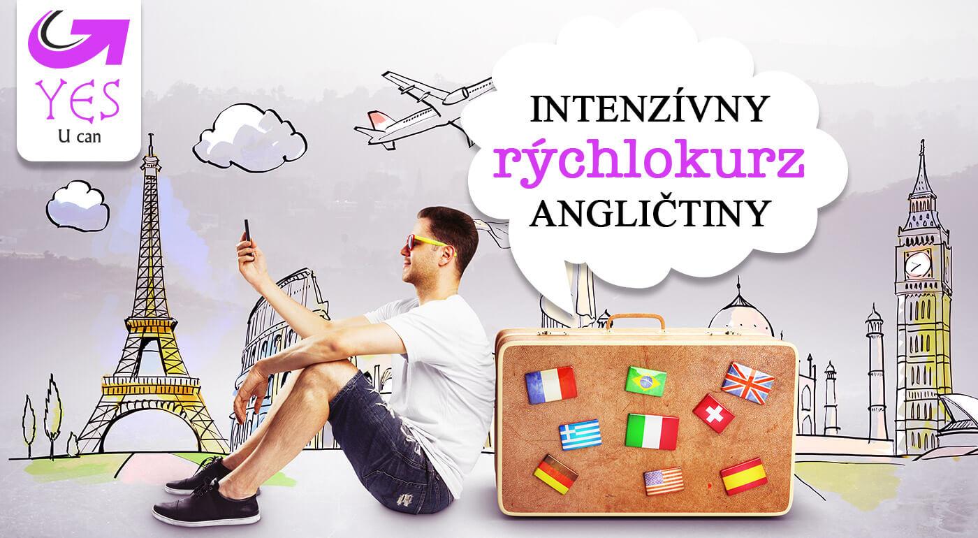 Intenzívny rýchlokurz anglického jazyka Holiday English v Yes Akademia