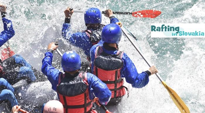 Fotka zľavy: Rafting v umelom kanáli alebo splav Váhu či Belej