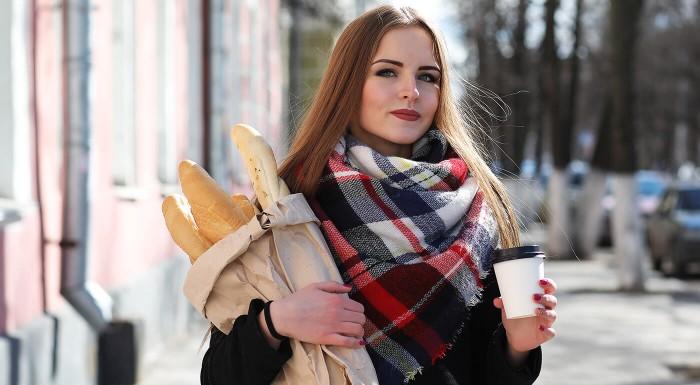 Fotka zľavy: Maxi šál pre dámy v moderných farbách