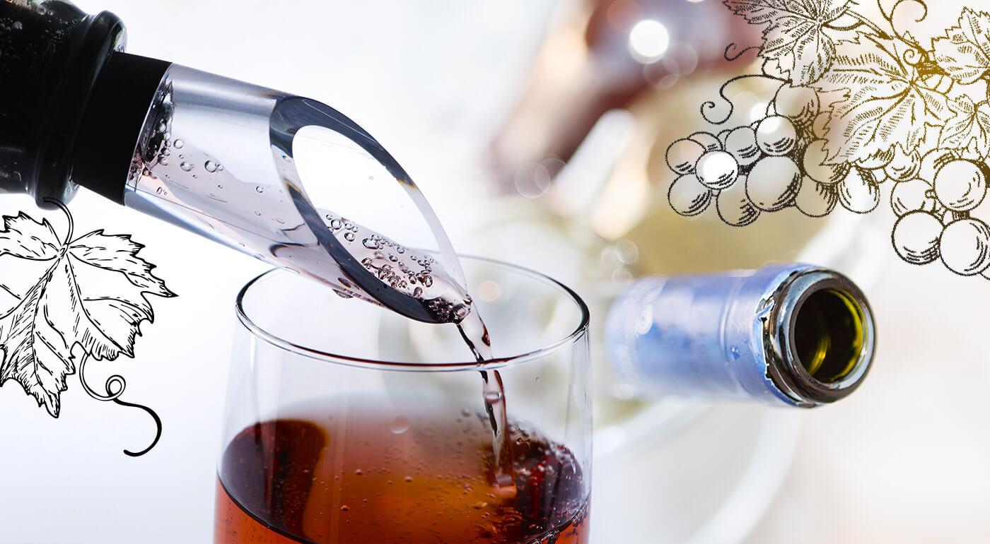 Chladič vína 3v1 s aerátorom a odlievačom - skvelý darček pre milovníkov vína!