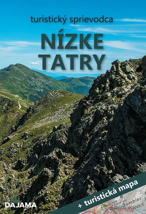 Turistický sprievodca Nízke Tatry + turistická mapa (vydavateľstvo Dajama)
