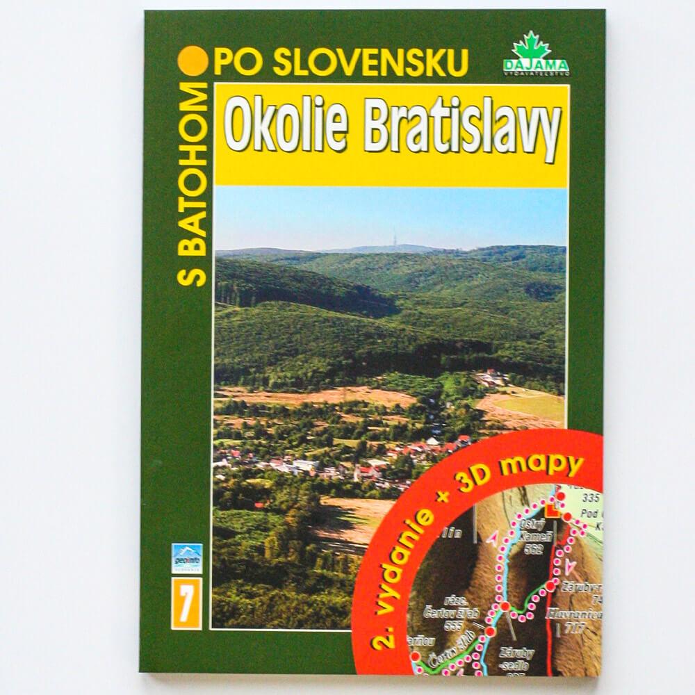 Kniha S batohom po Slovensku 7 - Okolie Bratislavy (vydavateľstvo Dajama)