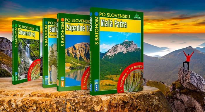Knihy z edície S batohom po Slovensku