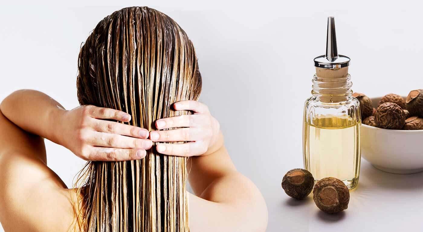 Reetha prášok pre domáce kozmetické prípravky na vlasy či pleť