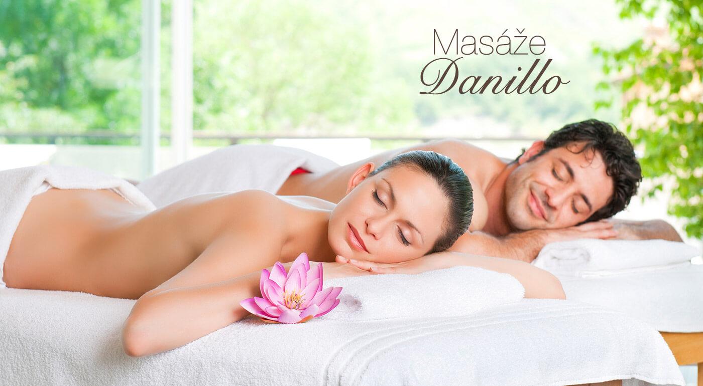 Športová DUO masáž v salóne Danillo pre dvoch - pozvite partnera či kamarátku!