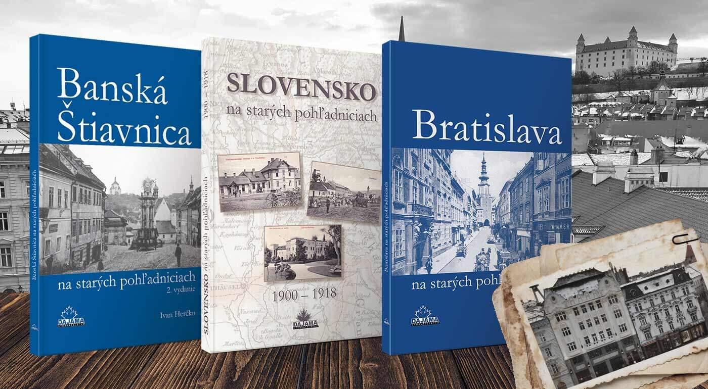 Edícia kníh Na starých pohľadniciach - odhaľte históriu vášho mesta prostredníctvom starých obrázkov
