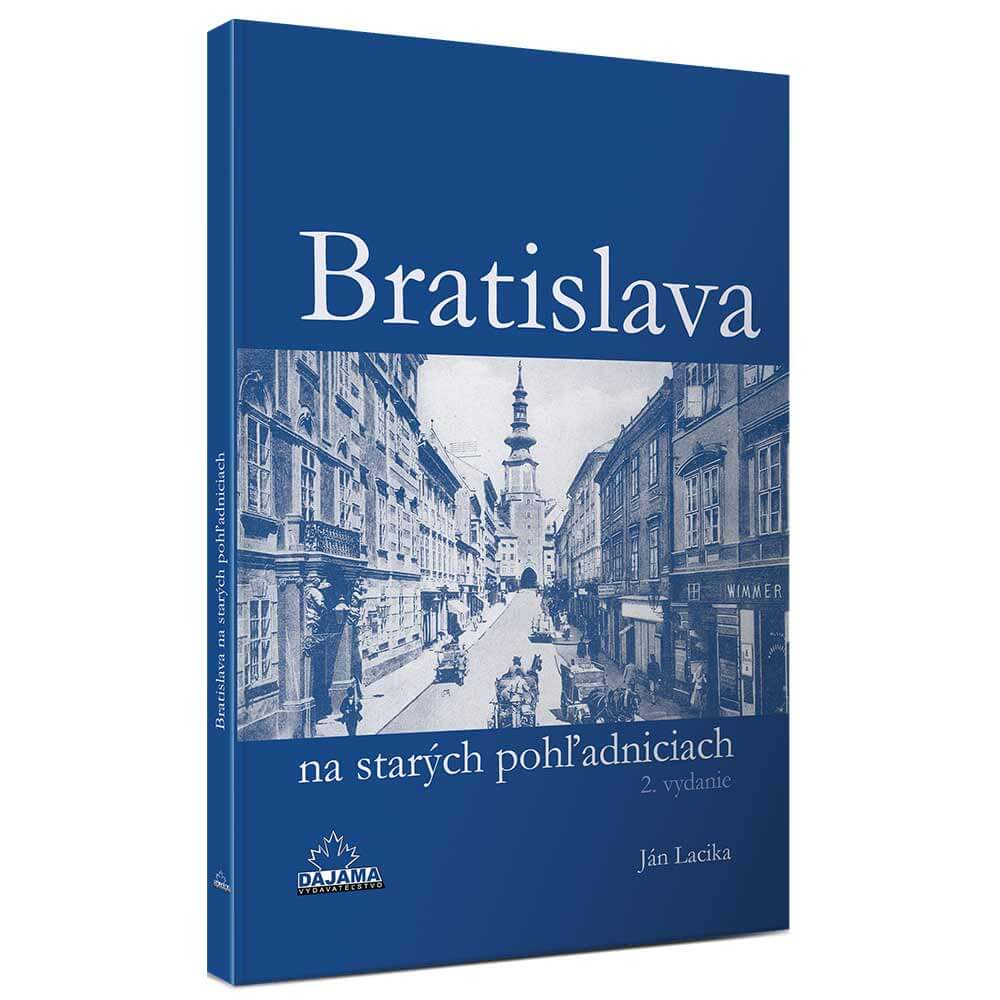 Kniha Bratislava na starých pohľadniciach