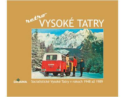 Kniha Vysoké Tatry – retro