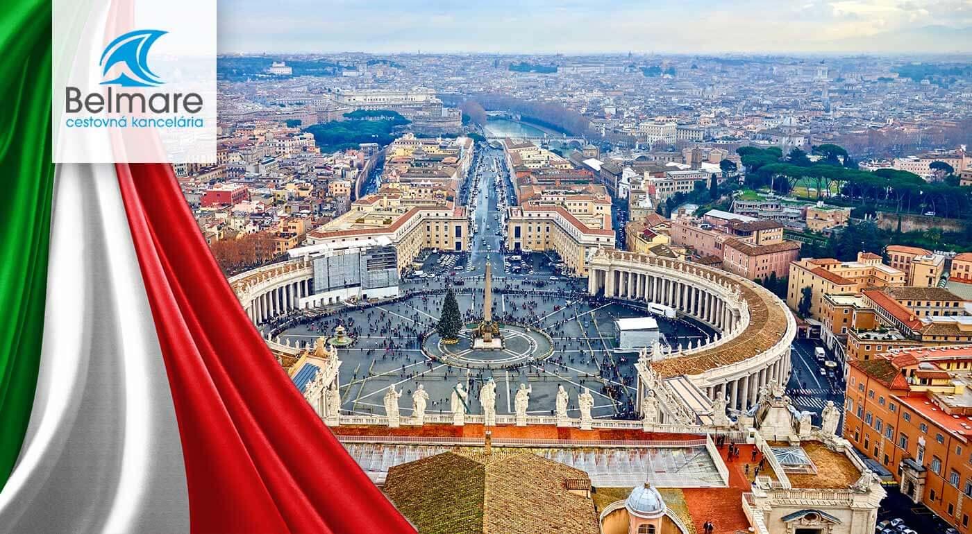 Rím počas Veľkej noci - 5-dňový zájazd do Talianska s návštevou Vatikánu a najvýznamnejších rímskych pamiatok