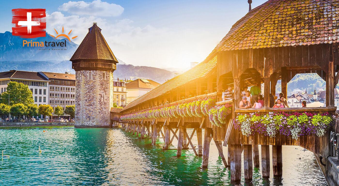Švajčiarsko a ostrov kvetov Mainau: 5-dňový poznávací zájazd do krajiny hodiniek, syrov a alpskej prírody