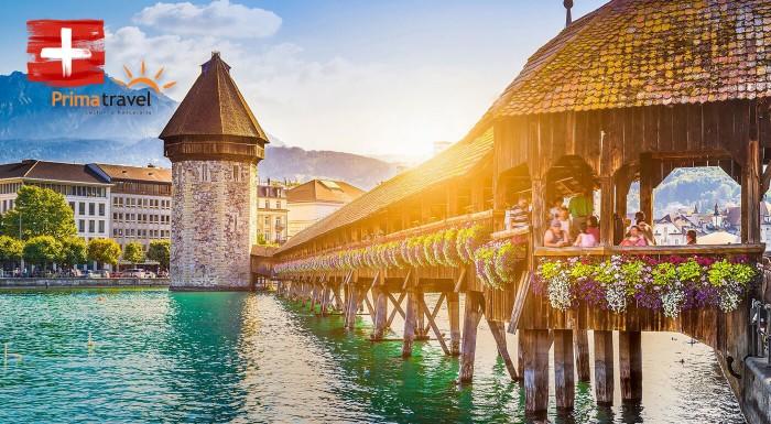 Zľava 26%: Navštívte rozprávkové Švajčiarsko a nechajte sa očariť nádherným ostrovom kvetov Mainau. S CK Prima Travel si užijete 5 dní aj s ubytovaním, raňajkami a sprievodcom.