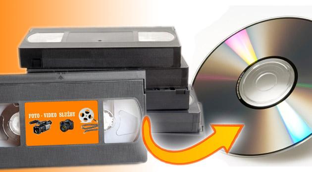Fotka zľavy: Zdigitalizovanie vašich spomienok už od 4,60€. Profesionálny prepis z kaziet VHS, VHS-c, HI8 a mini-DV na kvalitné DVD nosiče za skvelé ceny.